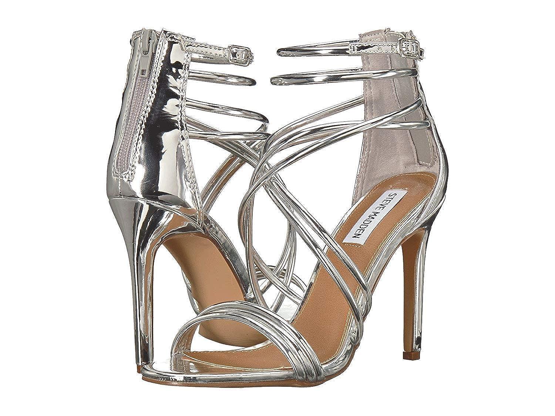 901d5c533 Amazon.com   Steve Madden Women's Martina Silver 8.5 M US   Heeled Sandals