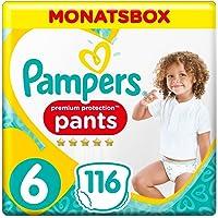 Pampers Premium Protection Pants, Gr.6 Extra Large, 15+kg, Monatsbox, 1er Pack (1 x 116 Stück)