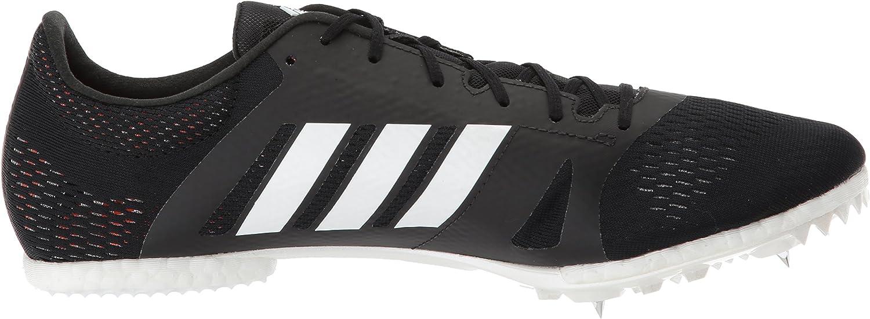 adidas Adizero Md Running Shoe Core Black, Ftwr White, Hi-res Orange S