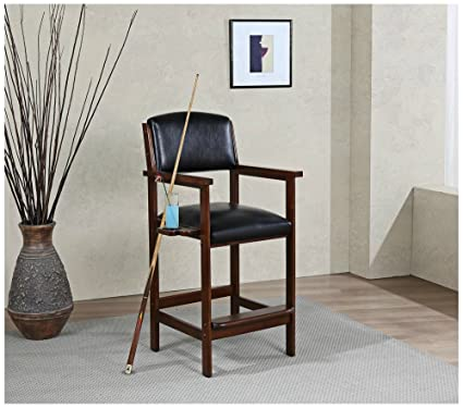 American Heritage Billiards Spectator Chair In Suede