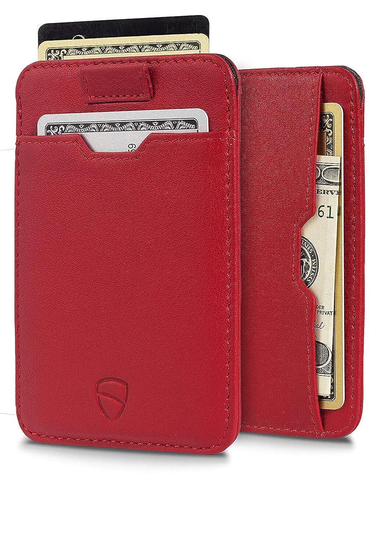 [Vaultskin] [VaultskinによるRFID保護付きChelsea Slim Card Sleeve Wallet のイタリアンレザー - 最大10枚までの超薄型カードホルダーデザイン] (並行輸入品)   B07GXH8H5X