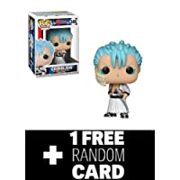 Funko POP! Bleach: Grimmjow & 1 Random Anime Themed Trading Card