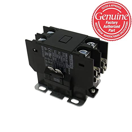 rheem ruud 30a 1 pole contactor with 24v coil 42 25101 01 Rheem AC Contactor for Rpnl 043Jaz