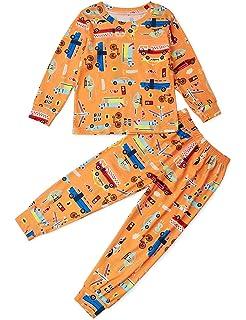 BFUSTYLE Kid Boy Girl Casual Pajamas Halloween Sleepwear 2-9T