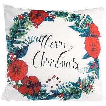 Amazon.com: Almohadas de Navidad manta almohada de luz con ...
