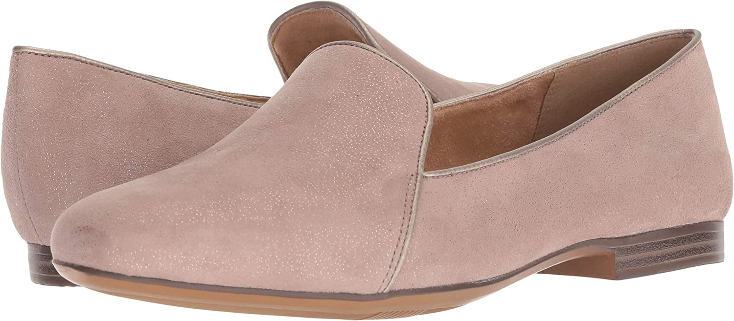 Taupe Glitter Dust Naturalizer Women's Emiline Loafer Flat