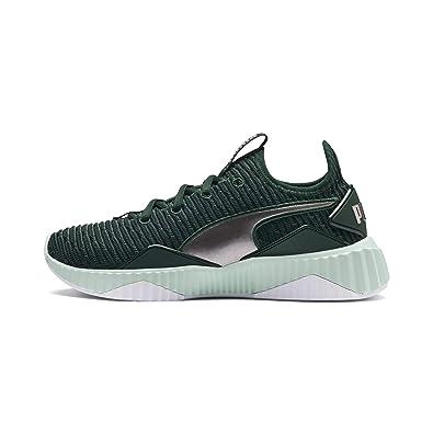 Defy Tz Wn S Green Running Shoes