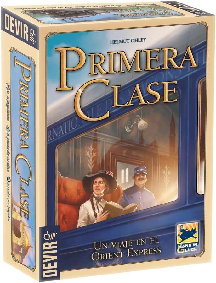 Devir - Primera clase, juego de mesa (BGPRIMERA): Amazon.es ...