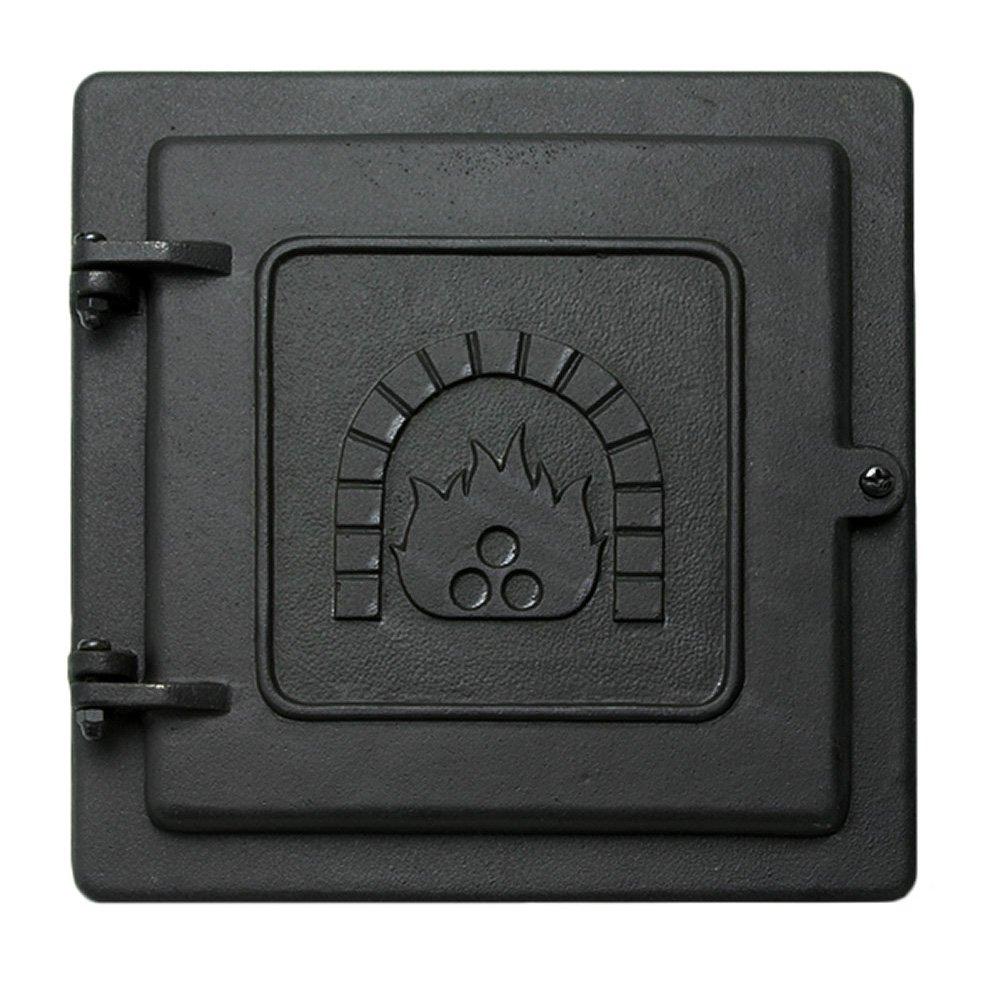 Minuteman International Cast Iron Clean-Out Door, 8 by 8-Inch by Minuteman International