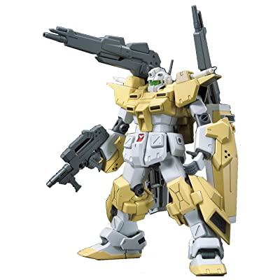 """Bandai Hobby HGBF Powered GM Cardigan """"Gundam Build Fighters Try"""" Action Figure (1/144 Scale): Toys & Games"""