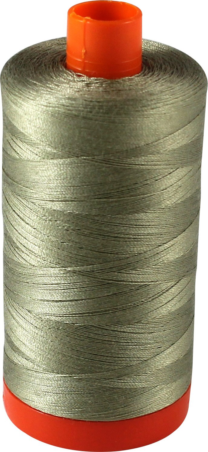 Aurifil Quilting Thread 50wt Cotton FERN Large Spool MK50-2900