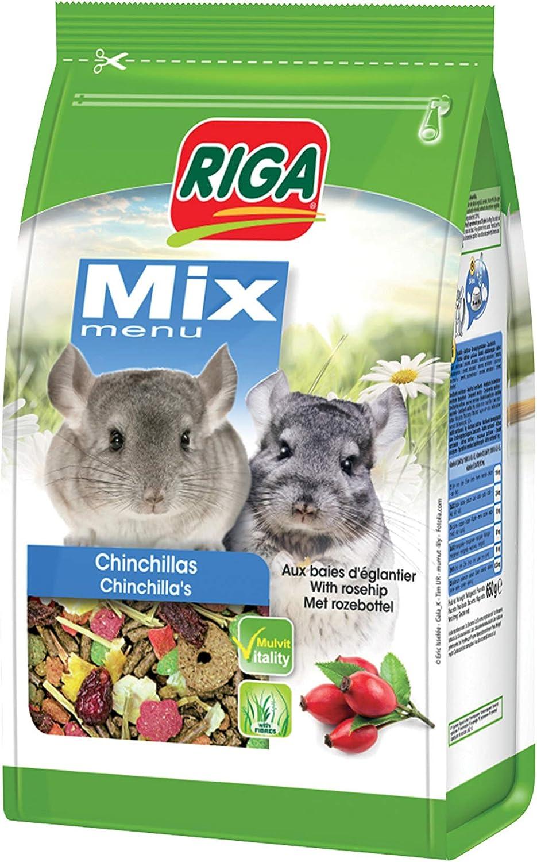 Riga Mix - Mezcla para Chinchillas (650 g), Color Rojo