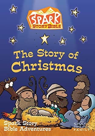 Bible Christmas Story.Amazon Com The Story Of Christmas Spark Story Bible