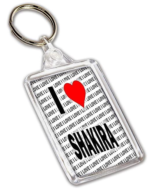 Llavero I Love Shakira - regalo - cumpleaños - Navidad ...
