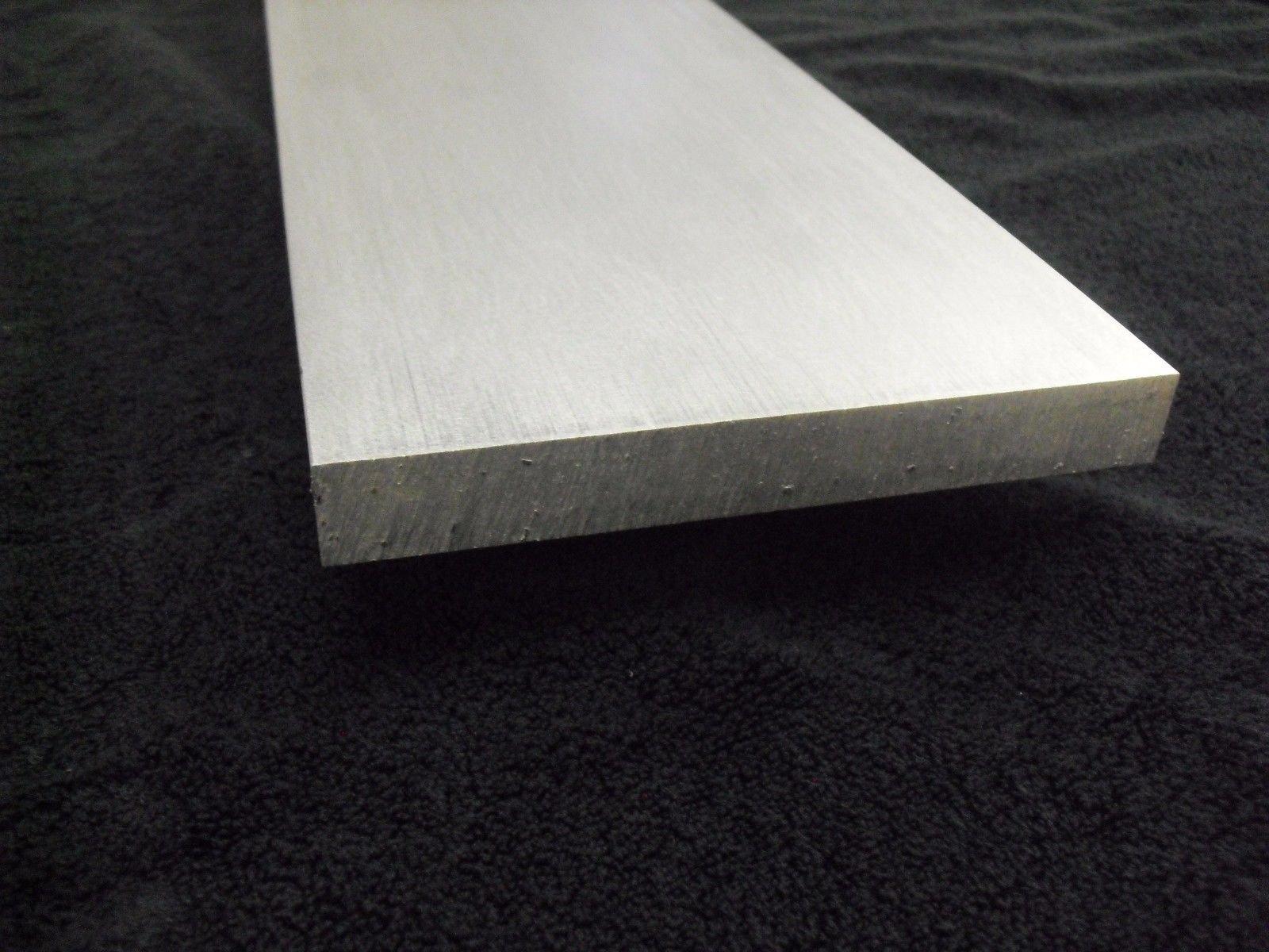 1/4'' Aluminum 12'' x 24'' Bar Sheet Plate 6061-T6 Mill Finish by TNT Metals