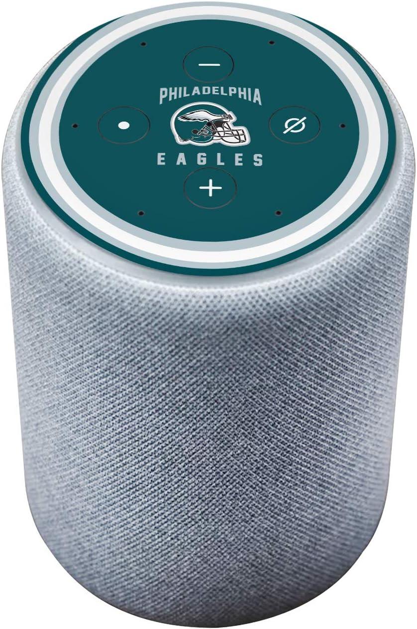 Head Case Designs Officially Licensed NFL Team Colour Helmet Philadelphia Eagles Matte Vinyl Sticker Skin Decal Cover Compatible with Amazon Echo Plus (2nd Gen)