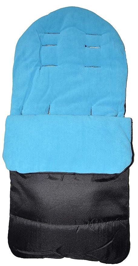 Saco reposapiés o manta para pies, compatible con cochecito Joolz Day, color azul océano