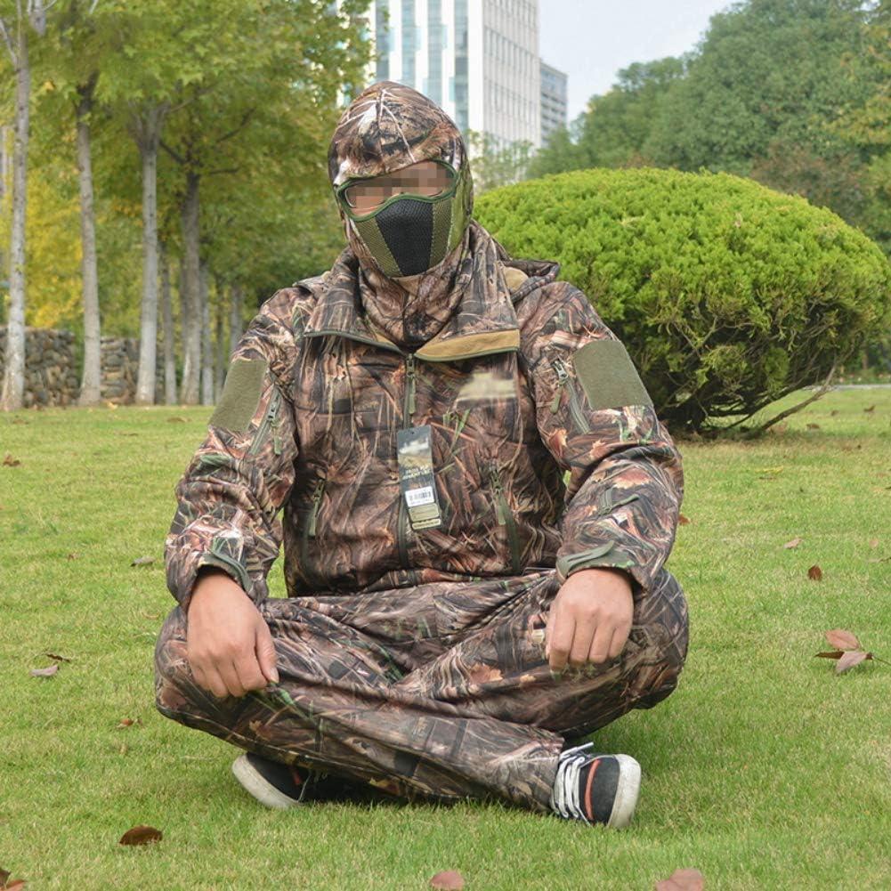 Zdmathe Camo Masque de Chasse Masque de Visage Complet Tactical Militaire Cagoule Paintball