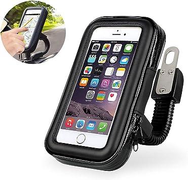 VOYAGO soporte para teléfono móvil apta para motocicleta o ...