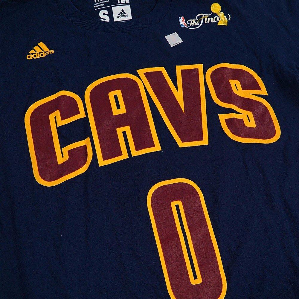 Kevin Love Cleveland Cavaliers NBA Adidas azul marino azul nombre y número jugador Jersey finales de la NBA camiseta para hombre, XL, Azul marino: ...