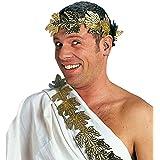 Corona de laurel tocado romano César