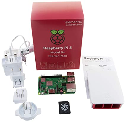 Element Raspberry Pi 3 Model B+ - Kit de iniciación Completo ...