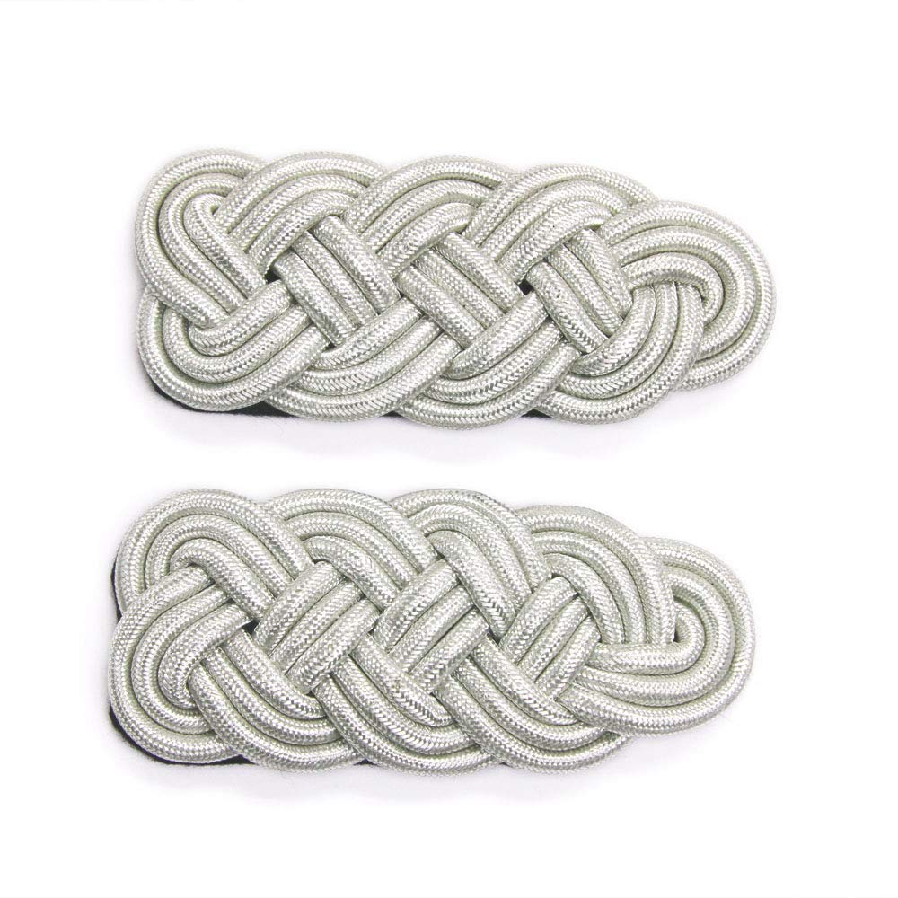Pair of Braided Gold Cord Epaulettes 6 1//4 Long