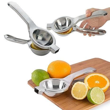 Cocina con pinza de acero inoxidable Lima Limón Naranja Exprimidor cítricos mano
