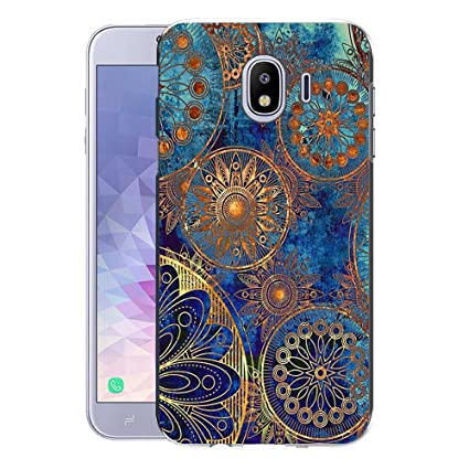 Amazon.com: Samsung Galaxy J4 2018 Case, FoneExpert Pattern ...