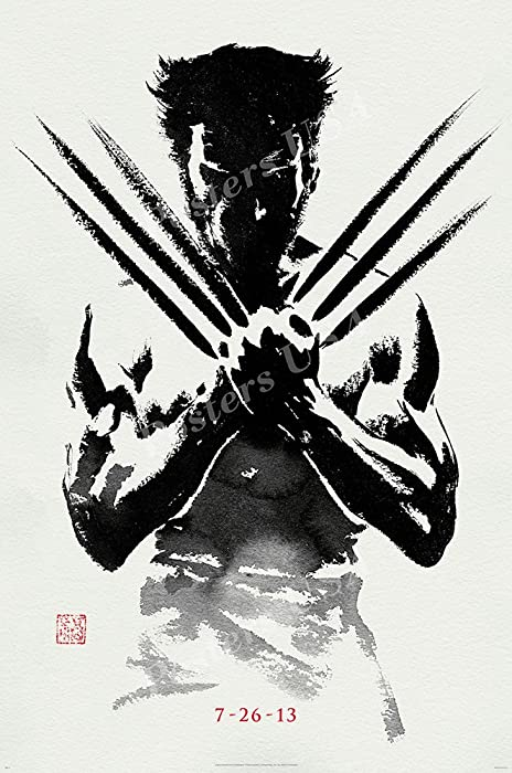 """Posters USA - Marvel The Wolverine X-Men Origins Textless Movie Poster GLOSSY FINISH - FIL313 (24"""" x 36"""" (61cm x 91.5cm))"""