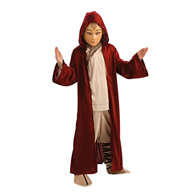 The Last Airbender Child's Hooded Cloak Costume-Medium: Toys & Games