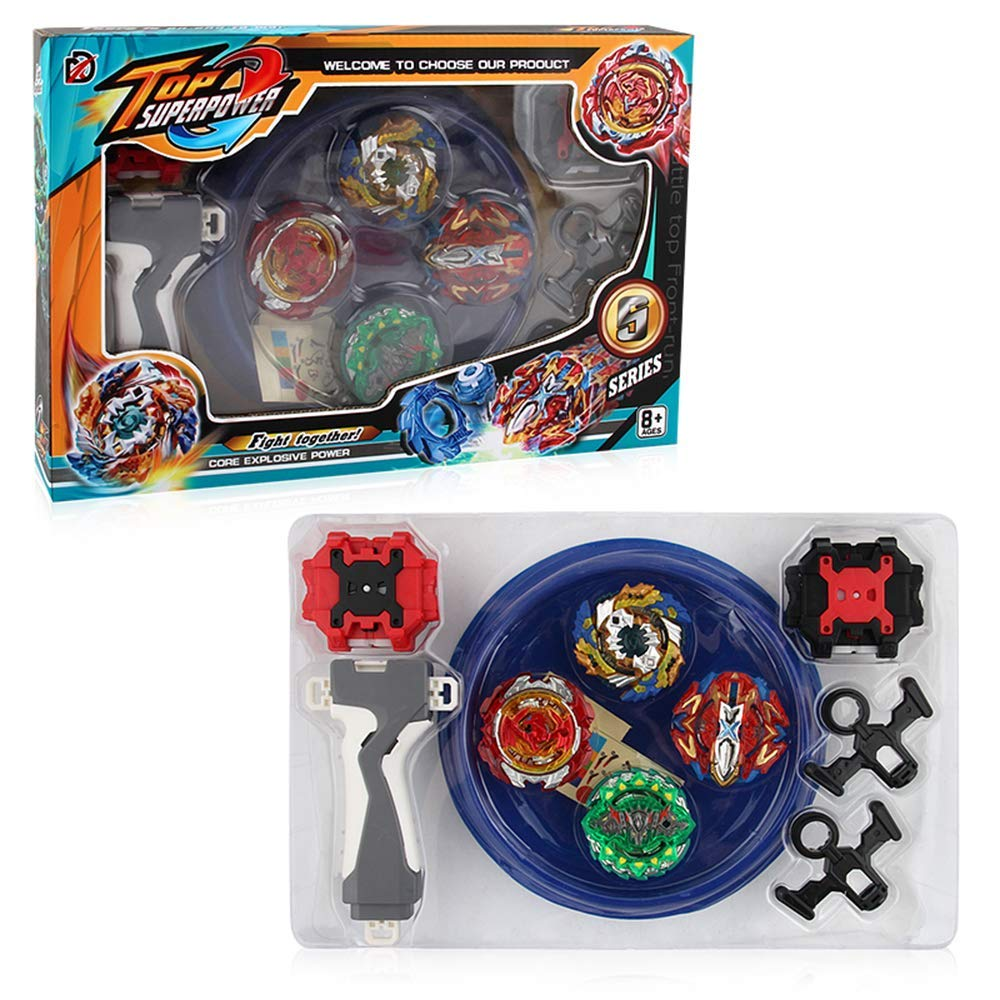 Poveyan Bay Burst Battle Avatar Attack Battle Set with Two Launchers by Poveyan (Image #2)