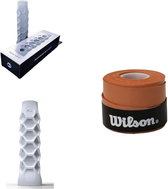 Grip Padel HESACORE Tour Grip 1und overgrip Wilson Confort Orange
