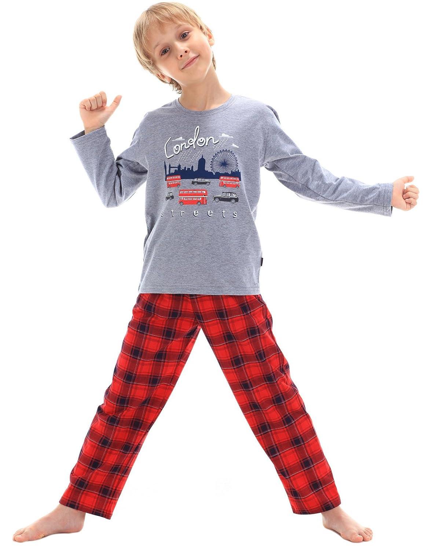 Cornette Boy's 100% Cotton Pyjamas Sleep Wear Pajamas London