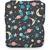Thirsties One Size All in One Cloth Diaper, Snap Closure, Stargazer