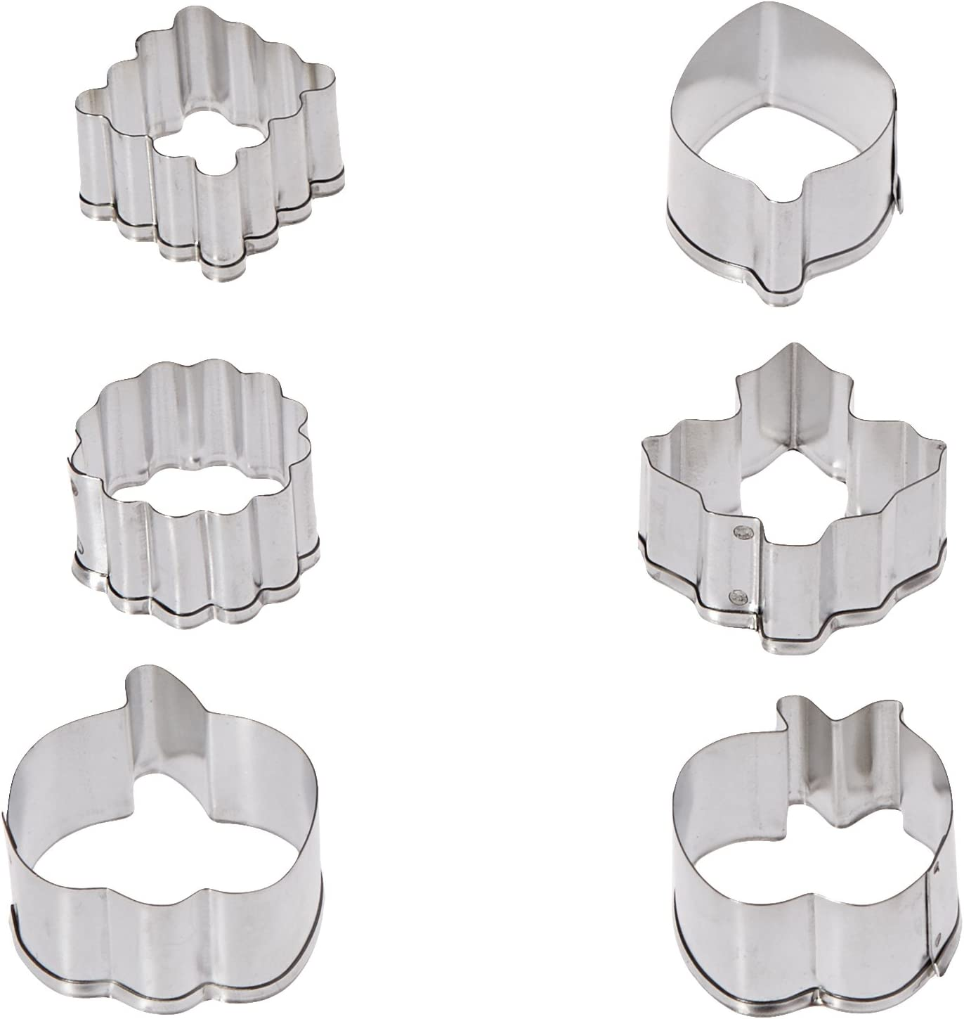 Wilton Cutter Set on Pie Backer, Mini