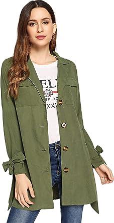 Ladies Longline Tunic Womens Jacket