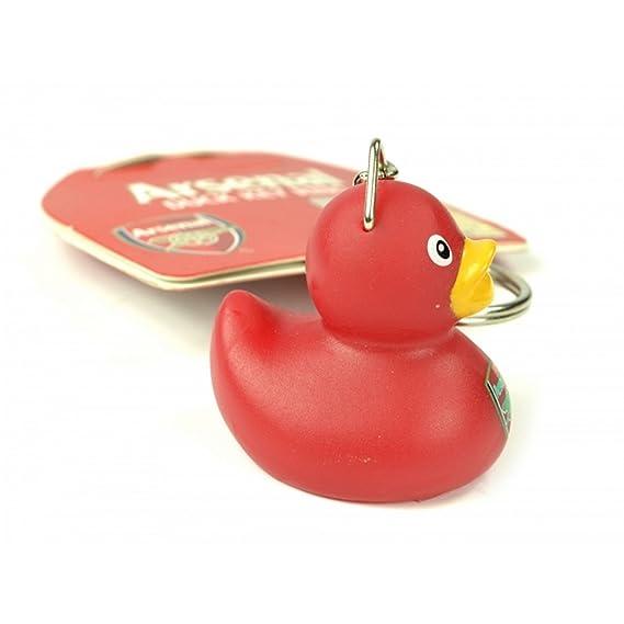 Arsenal FC Oficial - Llavero de pato pequeño con insignia ...