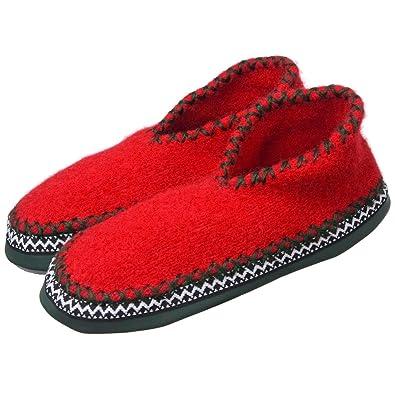 newest collection 04bd4 d9da7 ALPLER Pantofole Tirolesi MOD. 25002 Rosso