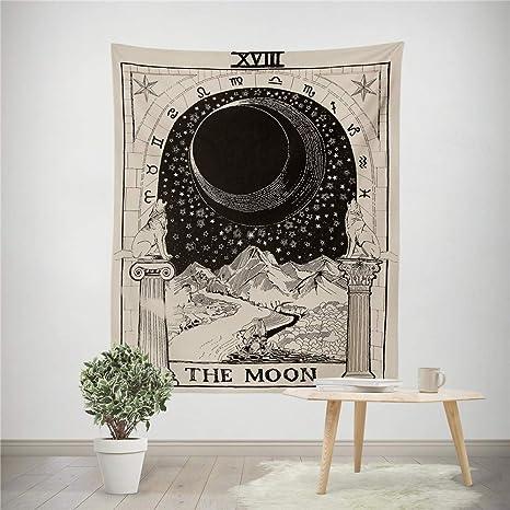 Tapestry Wall Hanging Divinación Estrellas Sol Estrellas ...
