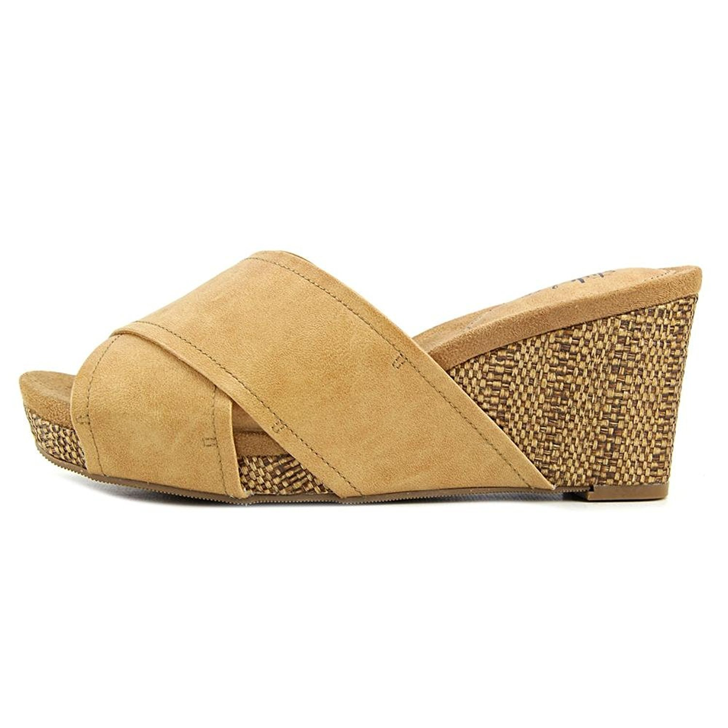 Style & Co. Womens Jillee Open Toe Casual Platform Sandals, Natural, Size 12.0