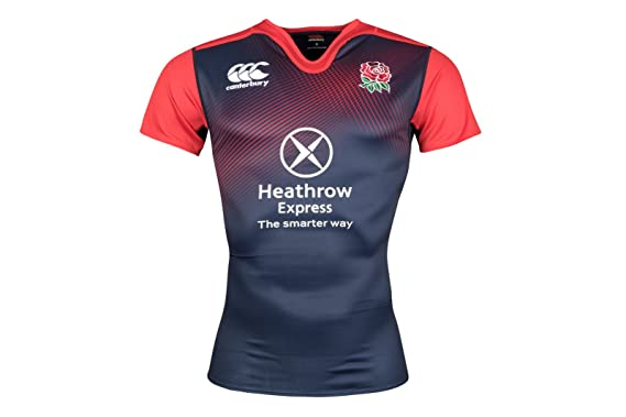 Canterbury Angleterre 2015/16 - Polo d'Entraînement de Rugby - taille S yZj9G9vn
