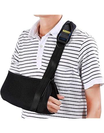 Cabestrillo para brazo Sling Eslinga de hombro dislocado para brazo roto  Inmovilizador Soporte de codo de 66efe53474de
