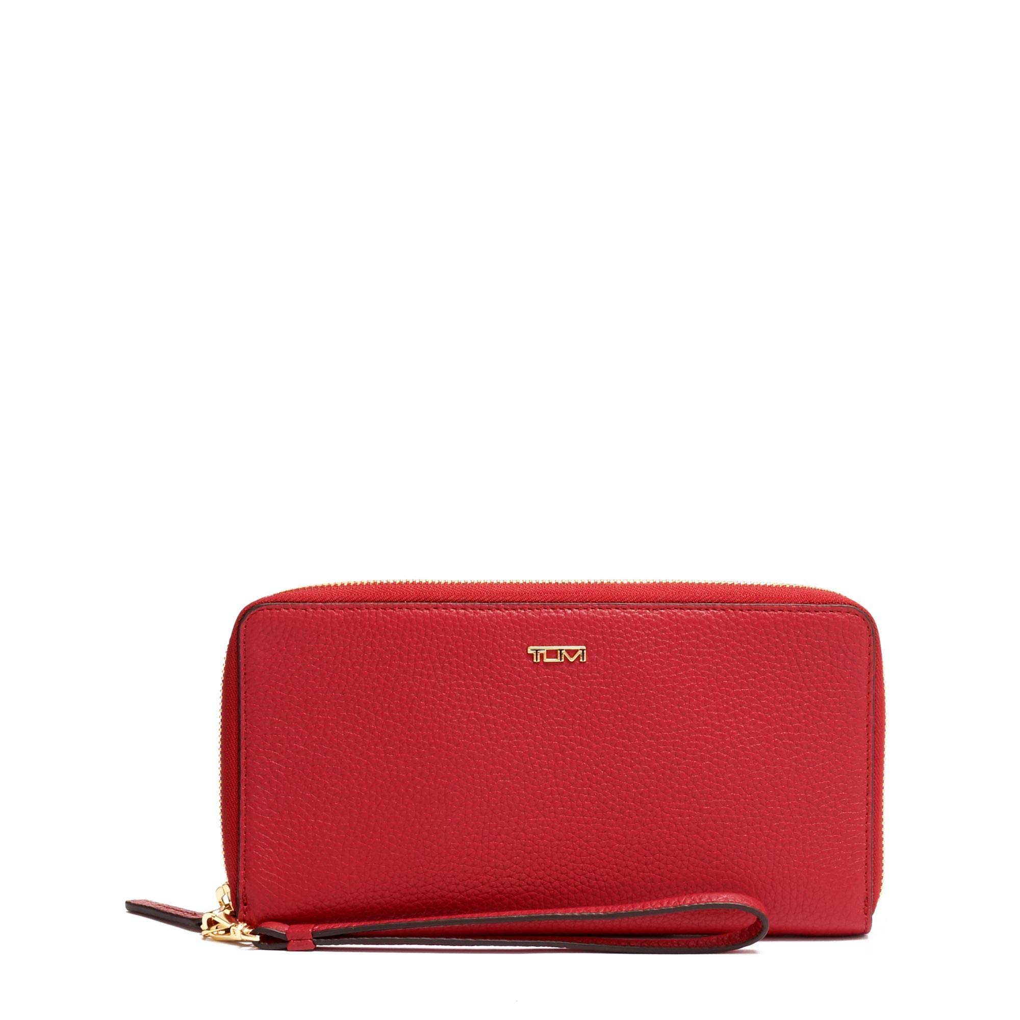 TUMI - Belden Travel Wallet - Orchid by TUMI