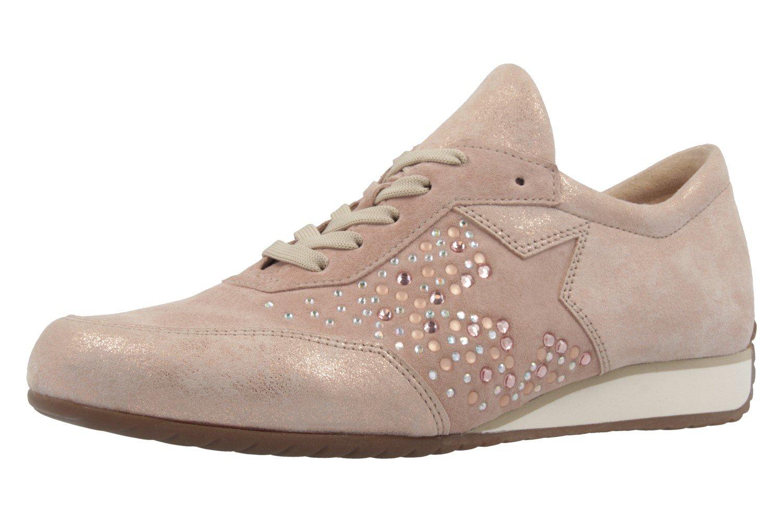 Gabor 66.359.28 - Zapatos de cordones para mujer 42 EU|metálico