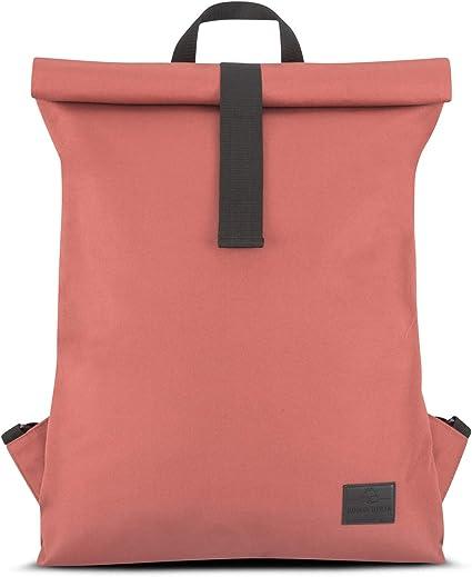 JOHNNY URBANAaron Roll Top Daypack Recycled PET Backpack Men /& Women Blue