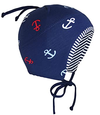 1f93f84c80a EveryHead Fiebig Boys Tie Cap Hat Jersey Summer Brand Baby Toddler with  Anchor for Children (