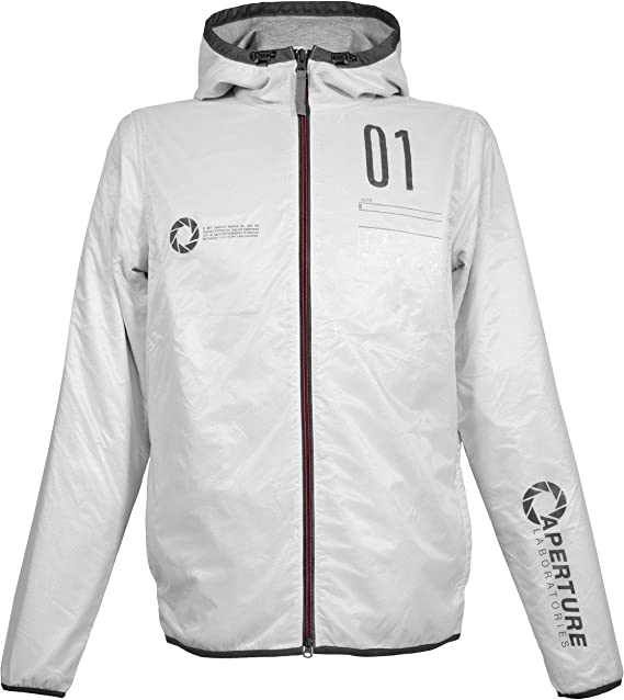 noch eine Chance Super Specials Outlet-Store Musterbrand Portal Jacke Herren Programmer leichte Regenjacke Windbreaker  Übergangsjacke Weiß