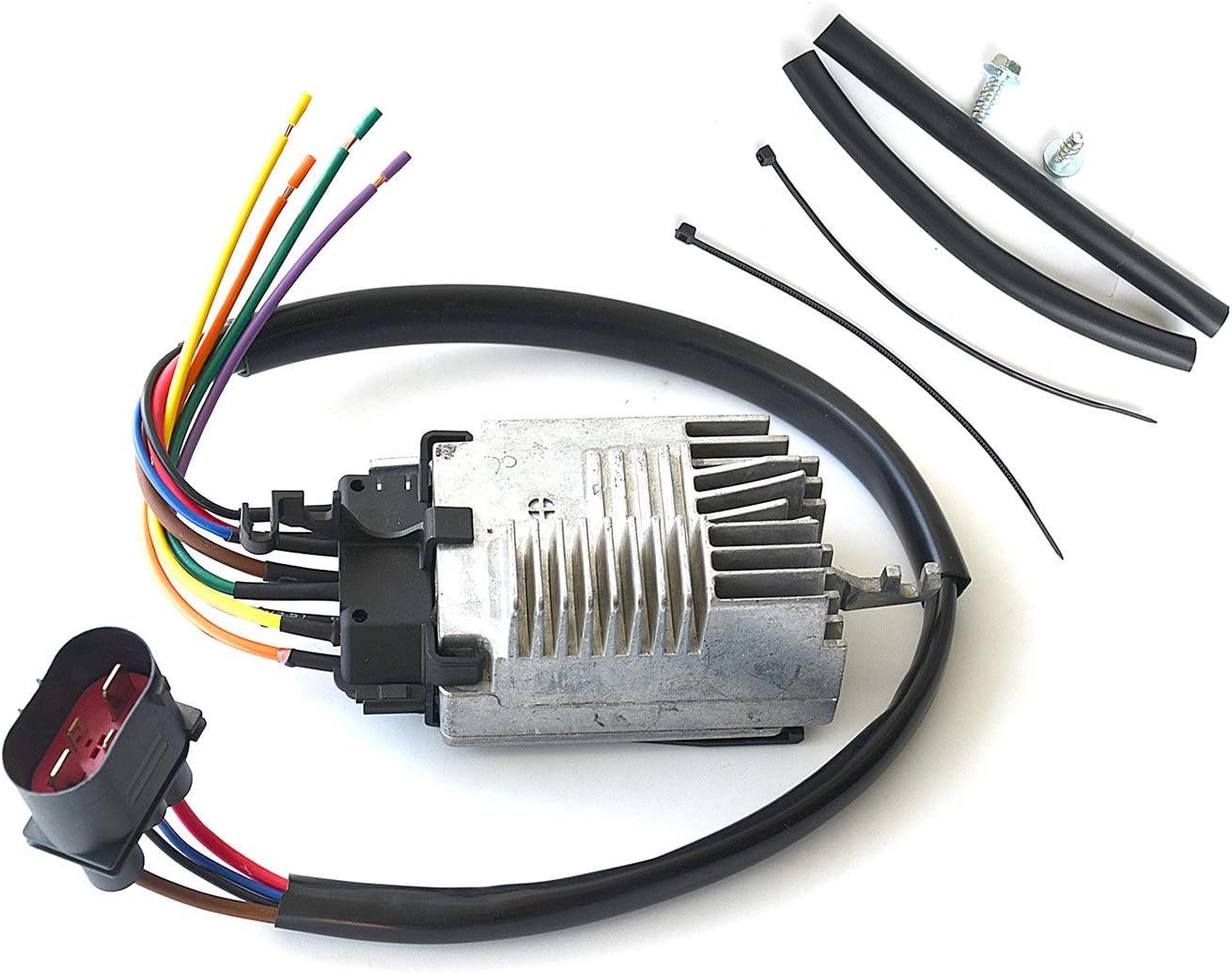 Fan Control Modul 8e0959501/K 8e0959501ab