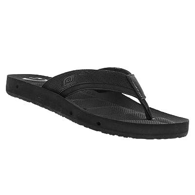Cobian Men's Draino 2 Midnight Flip Flops, 14   Sandals